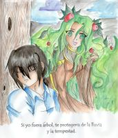 If I could be a tree by LilyAngelPhoenix