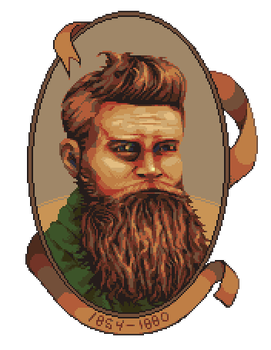 Ned Kelly by skittlefuck