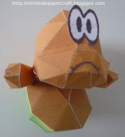 Lakitu papercraft by Drummyralf