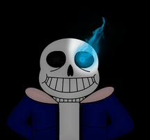 Undertale Sans Genocide (BETTER) by UltimateQuick