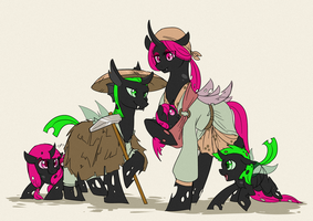 Changeling Peasantry by MagicMan001