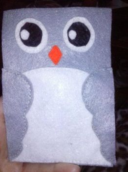 Owl phone cover by Keylunn