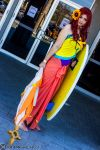 Pool Party Leona 5 by Insane-Pencil