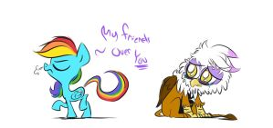 Friendship is harsh by Blleeeaauuurrgghhh