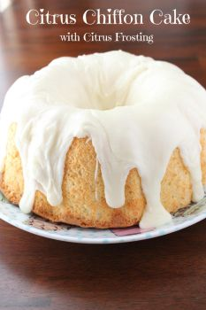 Citrus Chiffon Cake by LoveandConfections