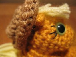Mini Applejack Plushie Amigurumi Detail 2 by RTakeshi
