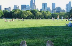 Relaxing In Central Park, New York by ShipperTrish