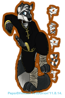Pepsi zecoon EF badge -commiss by Grion