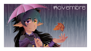 CALENDAR - NOVEMBER by Angie-Milady