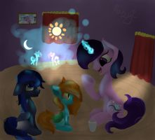 Story time [discription] by thedutchbrony