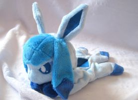Glaceon Beanie Baby by FollyLolly