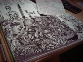 Extreme Doodling by TamiTw