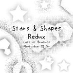 Tone Stars + Shapes Redux by kabocha