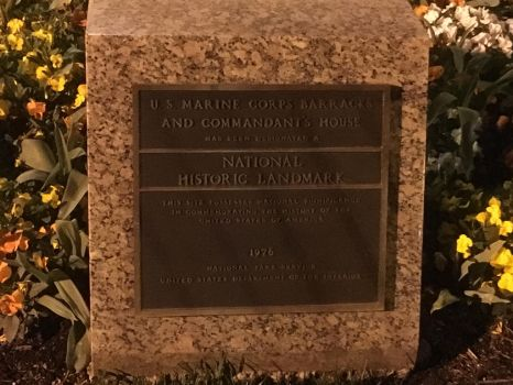Marine Corps Barracks Plaque by Midway2009