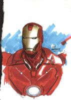 Iron Man by stompboxxx