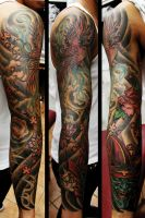 asian sleeve by Richroyalty