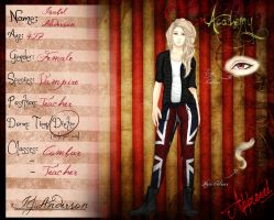 Scream Academy - Isabel Anderson by welshchick1201