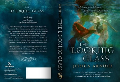 Book Cover, The Looking Glass - Jessica Arnold by Georgina-Gibson
