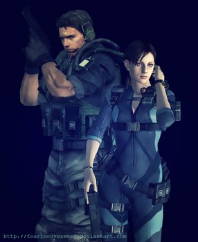 Chris and Jill ~ Revelations by FearTheOverseer