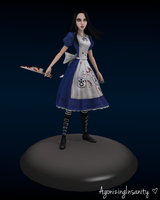 Alice Liddell: Alice Madness Returns by AgonizingInsanity