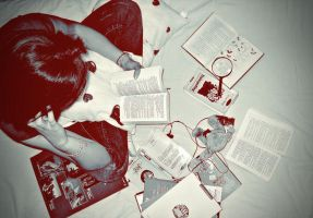 Addicted To Books by mada-is-ritard