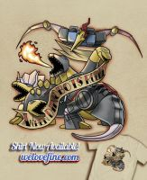 When Dinobots Ruled the Earth by ninjaink