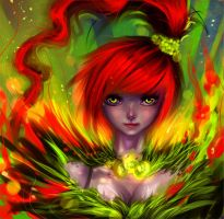 Fire fairy by ryky