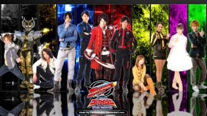 Go-Busters vs. Gokaiger by YorkeMaster