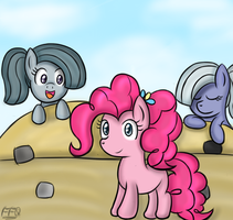 Pie sisters With ponytails. by FreeFraQ