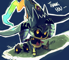 Thank you! by ALacroixx