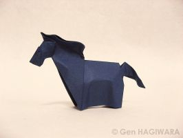 Origami Horse 3 by GEN-H