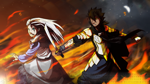 If it is to End in Fire, Then We All Die Together by Whitelupine