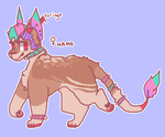 open auction pastel punk by toge-adopts