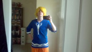 Wind Waker Link cosplay (without bag) by Draug419