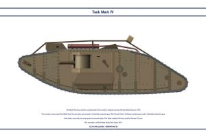 Tank Mk IV Male by WS-Clave