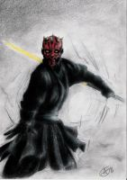 Insanity of Maul by AG-sArt