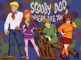 Scooby Doo Wallpaper by minaraye439