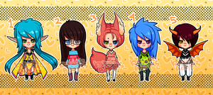 Cheeb Batch 3 (CLOSED) by Kariosa-Adopts