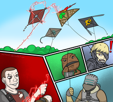 Kite Warfare by Memoski