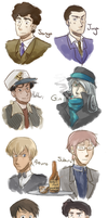 People need to draw these guys more. by Angel-soma