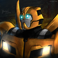 TF:Prime Bumblebee by Atlas-White