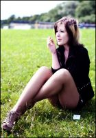 the girl who smoked a lot by r0xyz3r0