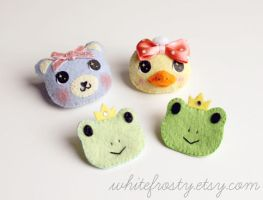 Fancy Brooches by whitefrosty