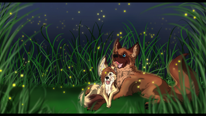 AT: Look at all the pretty lights by Blackwolfpaw