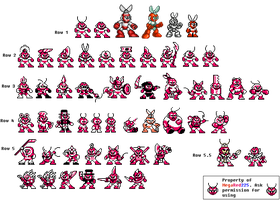 Cut Man's MANY Variations by MegaRed225