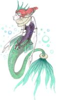 Elizabethan Mermaid by PippinIncarnate