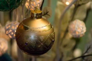 Day 349: Christmas Baubles by Kaz-D