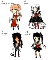 Random Batch Adopts 1 + $ 5  EACH (OPEN) by maequri