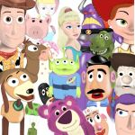 Toy story characters by TabithaFishy
