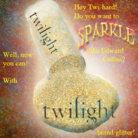 Twilight Brand Glitter by BookWurm15